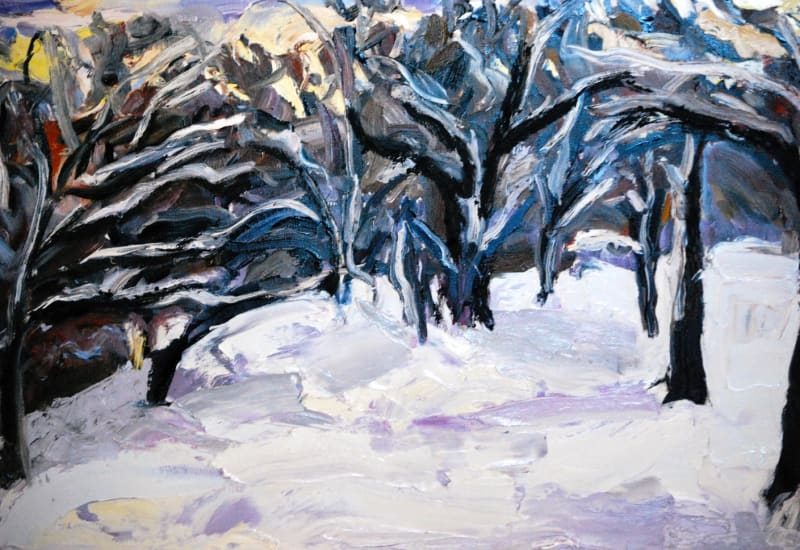 Michelle Hero Clarke, Trees, Royal River Park
