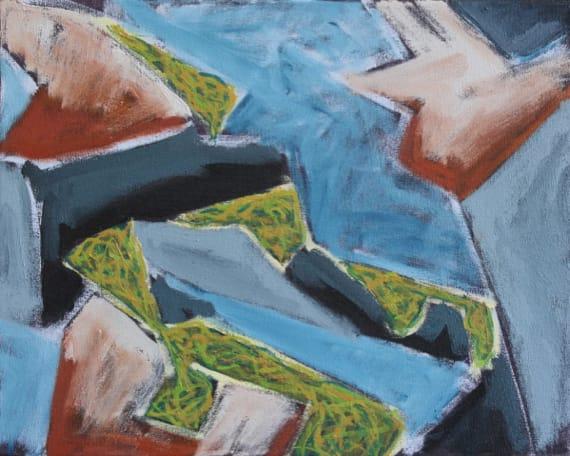Richard Keen, Island Geometry/ Monhegan: Rockweed No. 1
