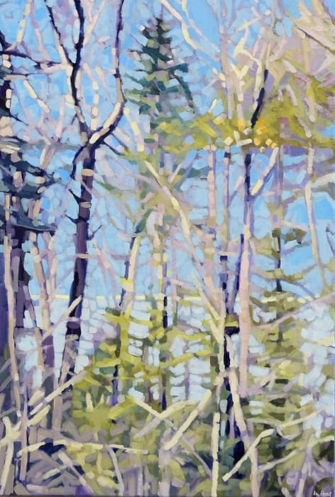 Liz Hoag, East Through the Trees
