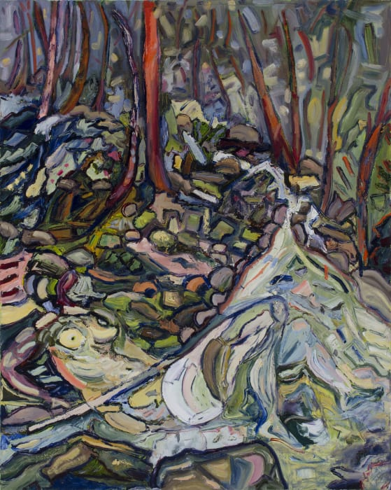 Alice Jones, Danae and the Creek