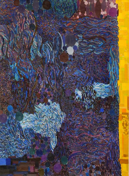 Lynne Drexler, Embattled Blue, 1968-69