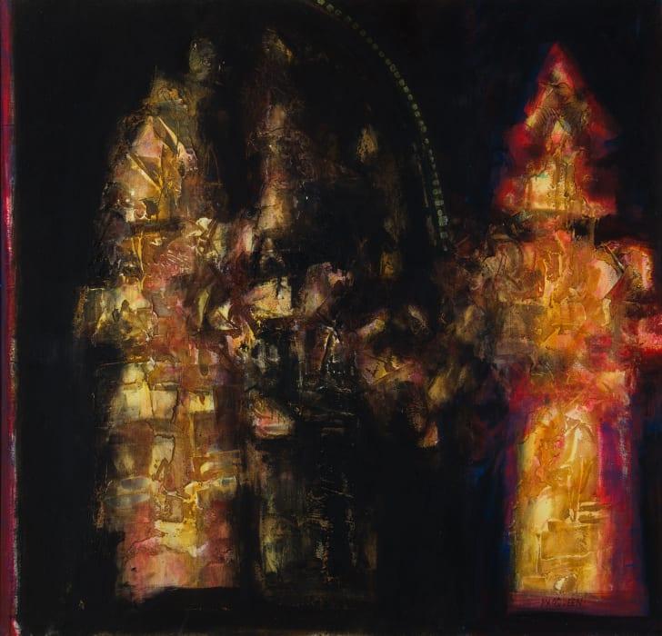 Charles MacQueen RSW RGI, Last Light, Venice, 2020