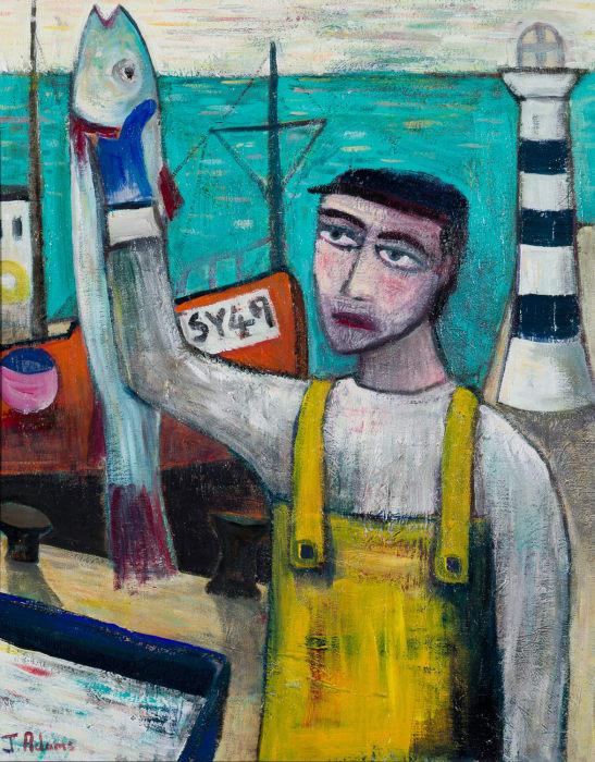 James Newton Adams, The Fish Packer, 2020