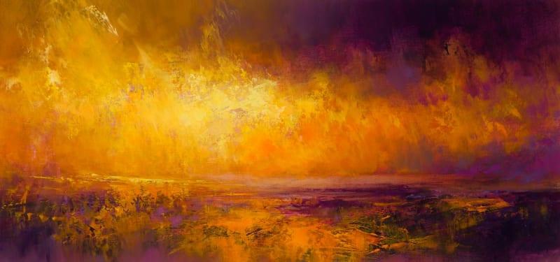 sunset fire | Kirstie Cohen