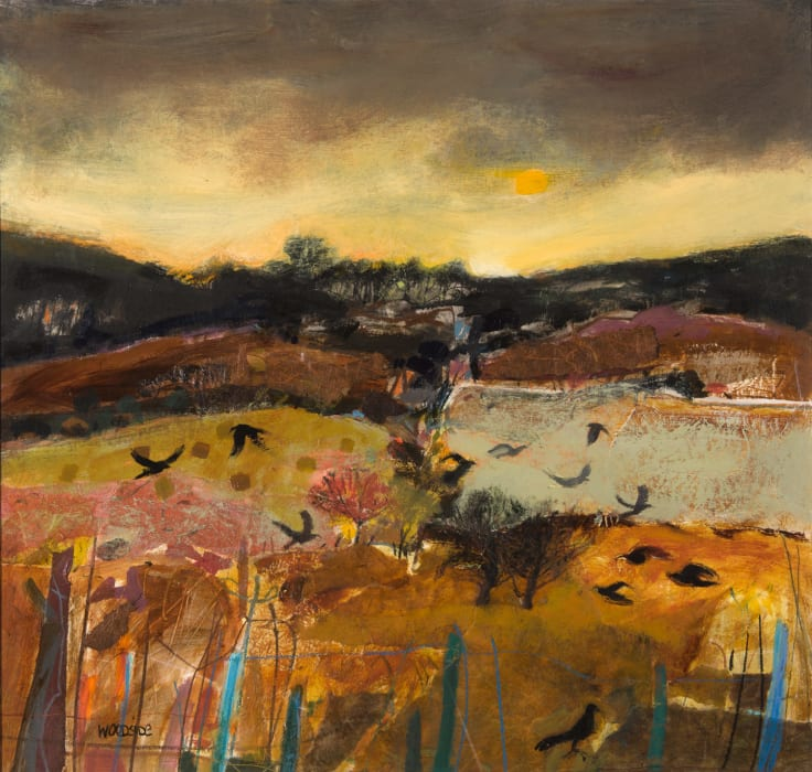 Christine Woodside artist | dark valley fife | Kilmorack Gallery