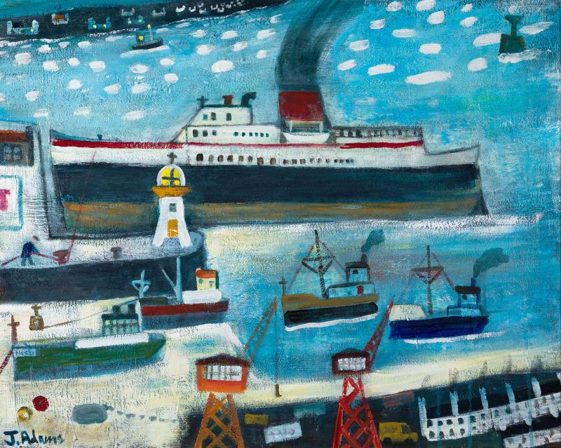 James Newton Adams, The Night Sailing, 2021
