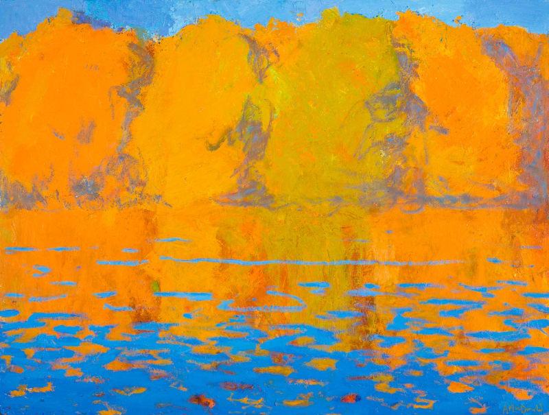 Allan MacDonald, river life, Eskadale, 2021