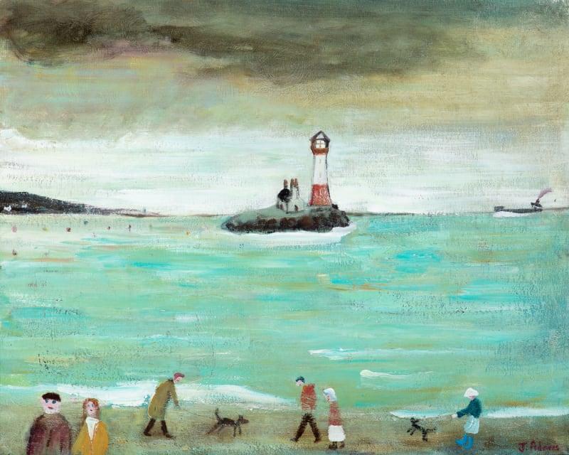 James Newton Adams, Shoreline Strollers, 2020