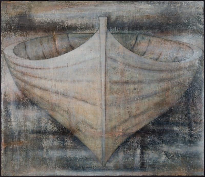 Peter White artist | boat | Kilmorack Gallery