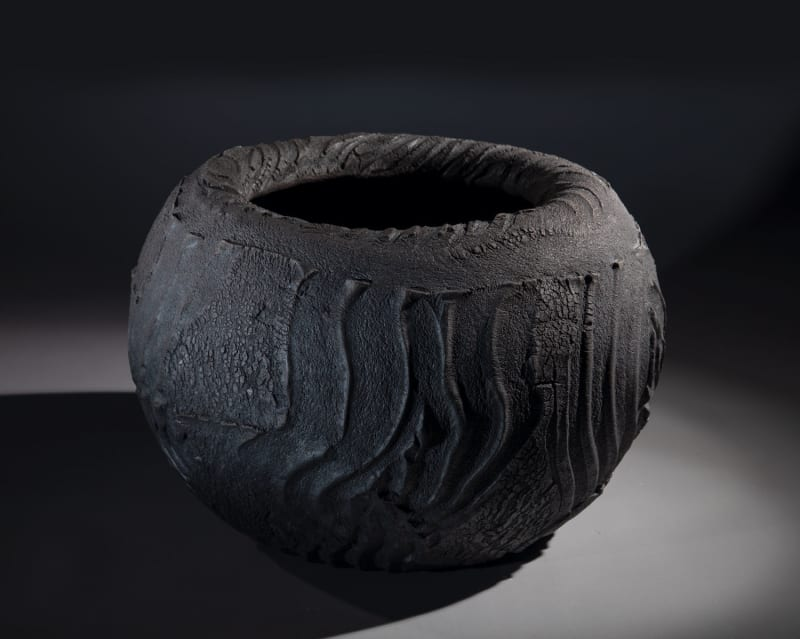 Patricia Shone, Erosion Bowl | bowl of night, 2020