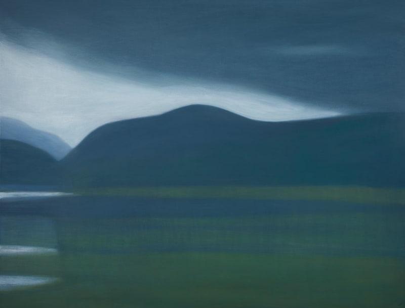 Jane MacNeill, Grey calls to green (Loch Pityoulish), 2021