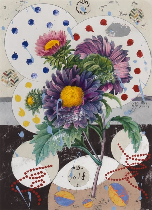 Colin Brown, China aster, 2021