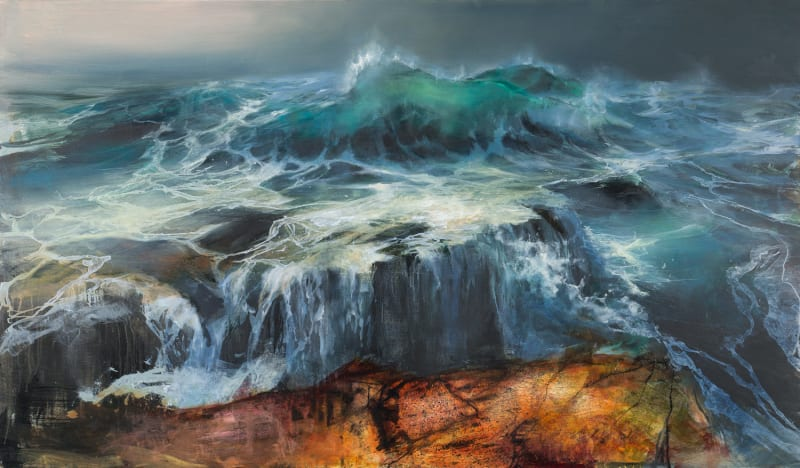 Beth Robertson Fiddes, Wild Water, Stoer, 2020