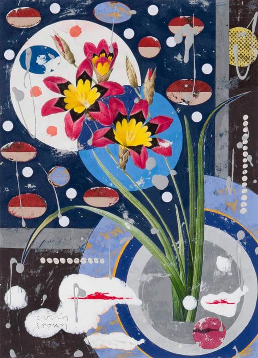 Colin Brown, Harlequin Flower, 2021