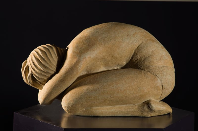 Crouching Figure | illona Morrice