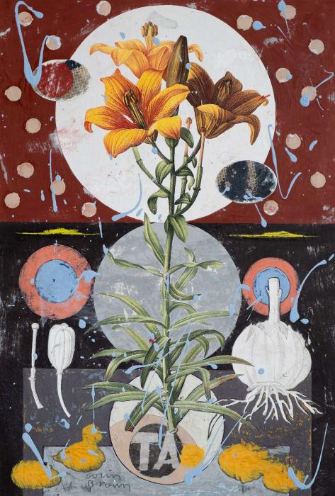 Colin Brown, Orange Lily, 2021