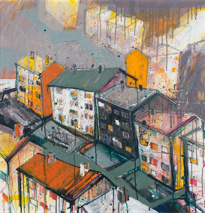 Robert McAulay, High-rise View iii, 2020