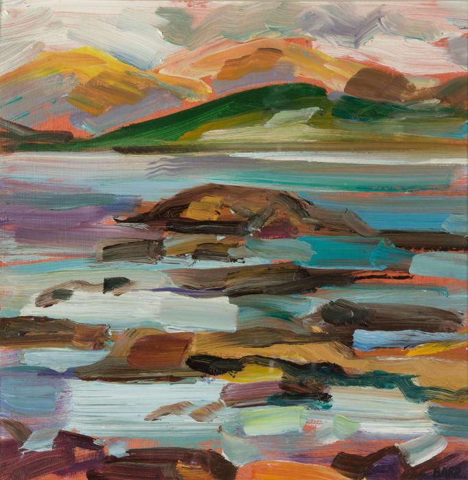Shona Barr, Loch Scridain, Mull study, 2019