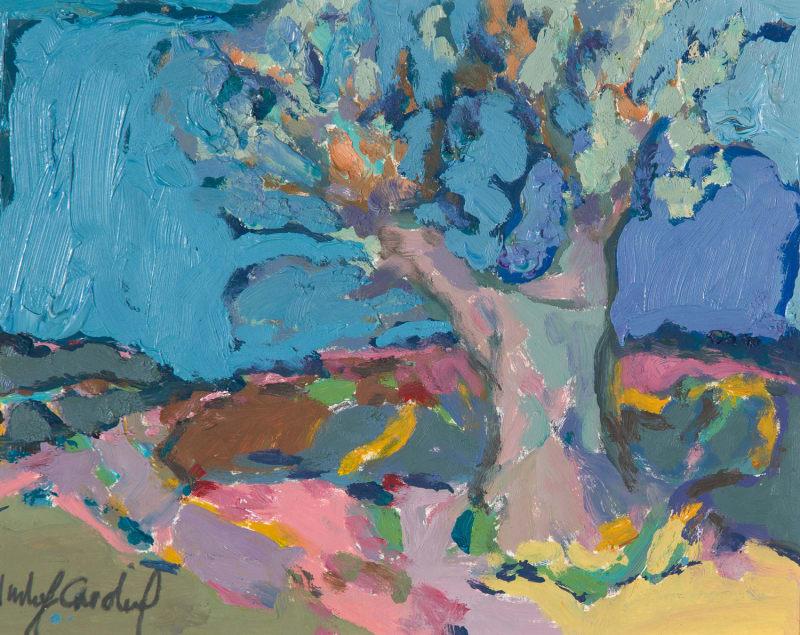Catherine Imhof-Cardinal, Olive Tree, 2020
