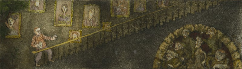 Robert Powell, The Staircase