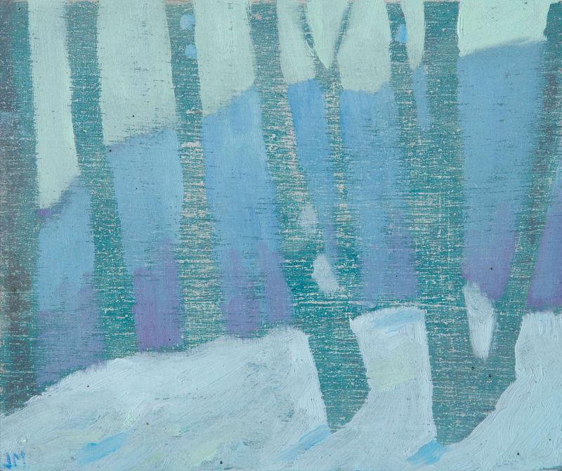 Snowy Birches | Jane MacNeill