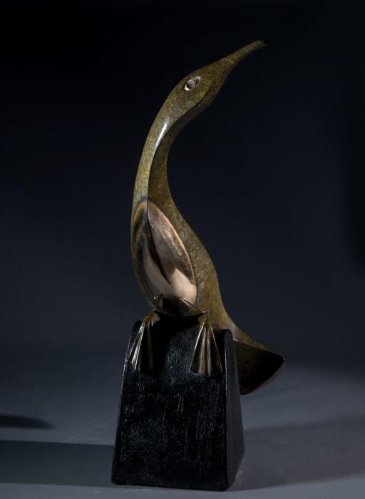 illona Morrice | bronze cormorant