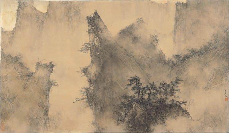 Li Huayi 李華弌, Landscape《山水》, 2015