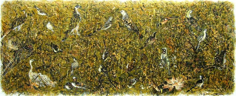 Fang Shao Hua 方少華, Birds from the Song Dynasty《從宋代飛回來的珍禽》, 2010