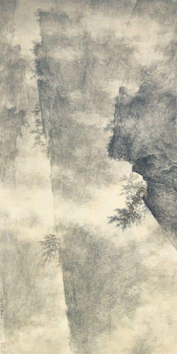 Li Huayi 李華弌, Magnificent Hills and Pine《立松重嶺》, 2006