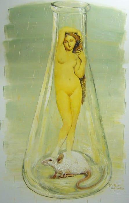 Fang Shao Hua 方少華, New Birth of Venus (II)《維納斯的新生(二)》, 2010
