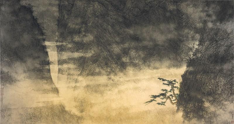 Li Huayi 李華弌, Landscape《山水》, 2003