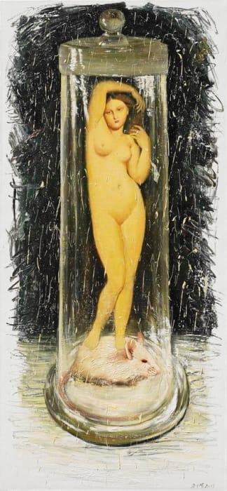 Fang Shao Hua 方少華, Venus Cloned from the DNA of Ingres (I)《用安格爾的DNA克隆的維納斯(一)》, 2011