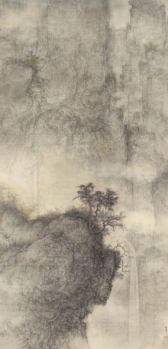 Li Huayi 李華弌, Misty Landscape 《遠山蓋霧》, 2005