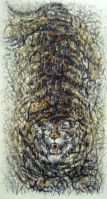 Fang Shao Hua 方少華, Croching Tiger 《臥虎》, 2009