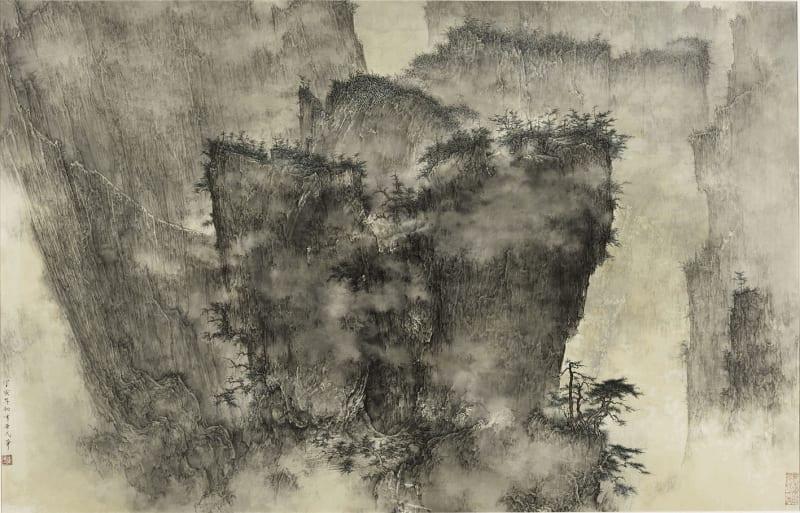 Li Huayi 李華弌, A Gathering of Pines and Clouds 《雲松聚》, 2007