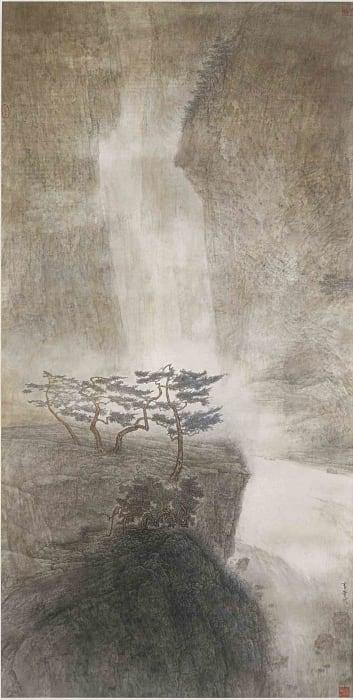Li Huayi 李華弌, Song of Pines and Falling Water《泉聲松籟》, 1999