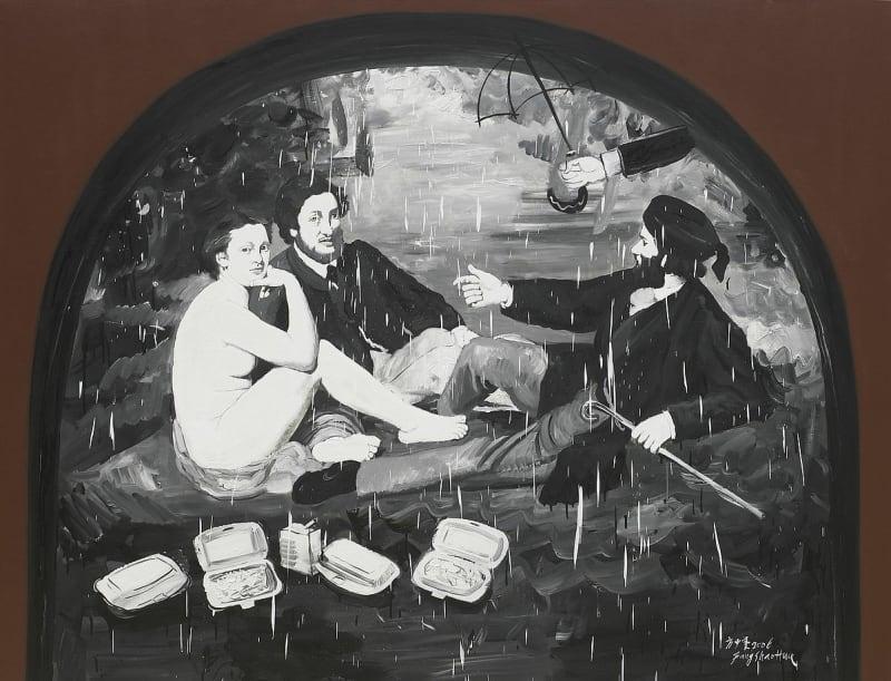 Fang Shao Hua 方少華, Brunch on the Grass《草地上的快餐》, 2006