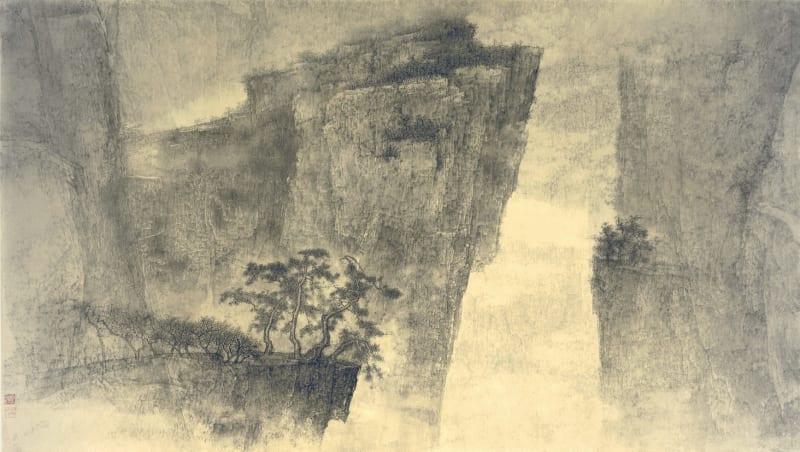Li Huayi 李華弌, Landscape《山水》, 1999