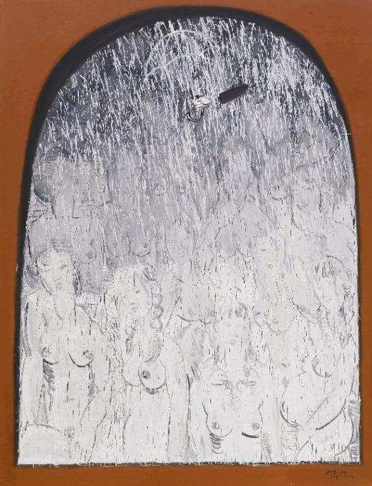 Fang Shao Hua 方少華, Rain Fall Over The Nudes Is Prohibited (I) 《禁止裸體淋雨之(一)》, 2006