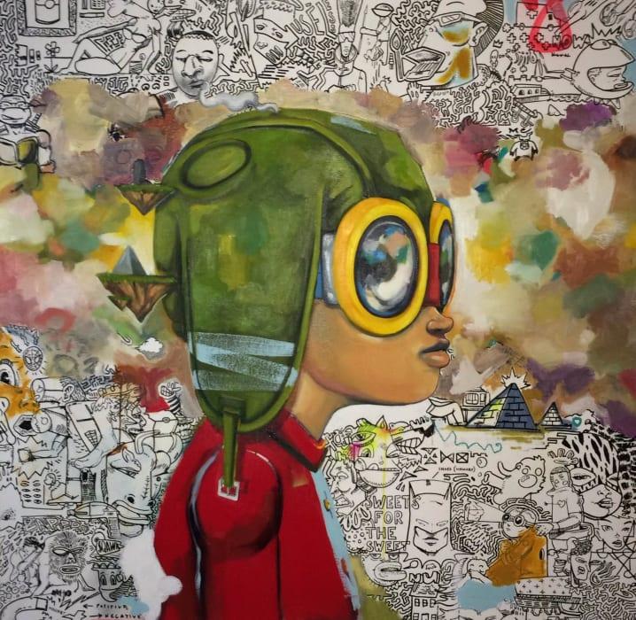 Hebru Brantley, (Untitled ) Original , 2012