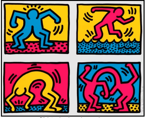 Keith Haring, POP SHOP QYAD II
