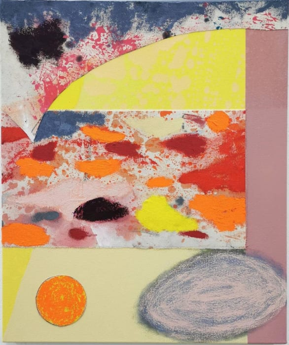 David Iain Brown, Tangerine Citrus Sunsrise, 2021