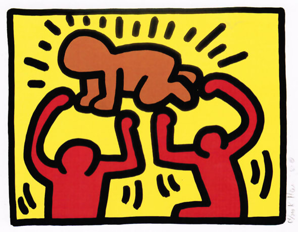Keith Haring, POP SHOP IV