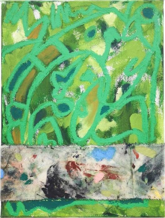 David Iain Brown, In Nature Green, 2020