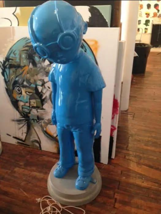 Hebru Brantley, Fly Boy (Blue), 2013