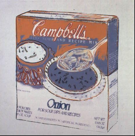 Andy Warhol, Onion Soup, 1986