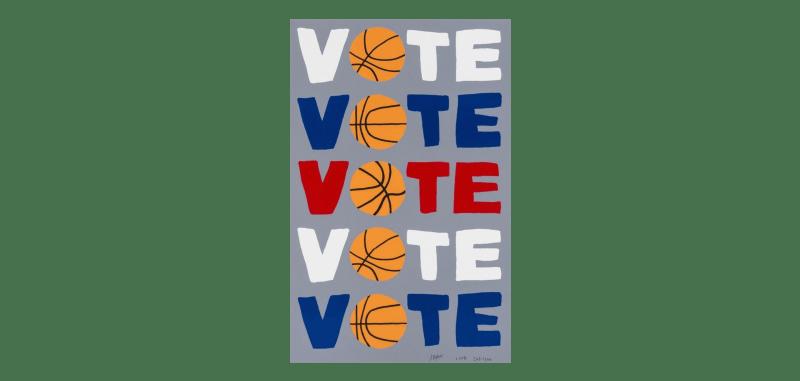 Jonas Wood, Vote, 2018