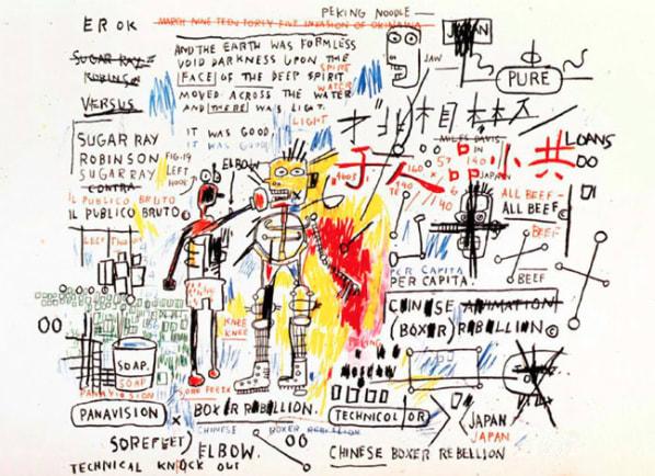 Jean-Michel Basquiat, Box Rebellion, 1982