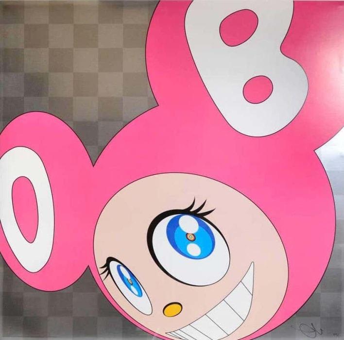 Takashi Murakami, And Then...(Pink), 2011