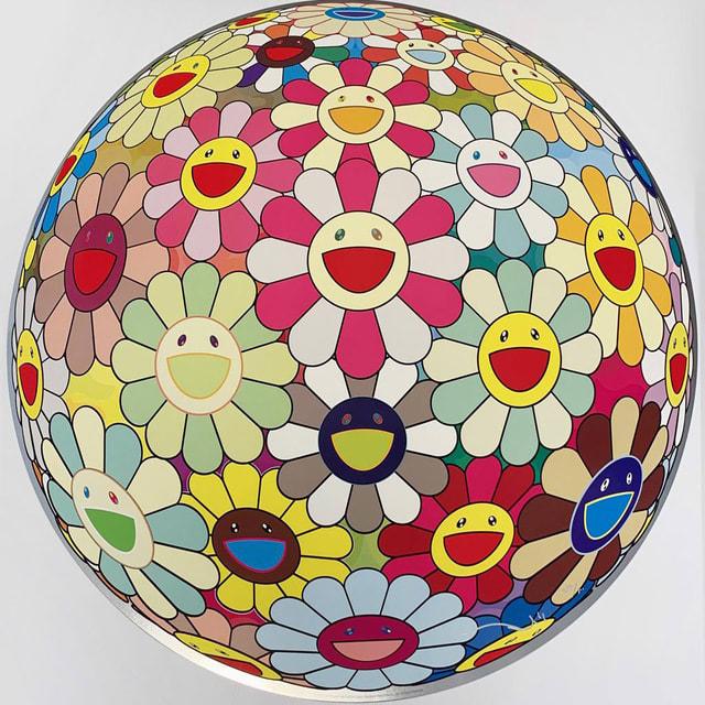 Takashi Murakami, Flowerball Margaret (3D) , 2011